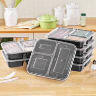 Microwave Meal Prep Containers - Set of 7 - 46524