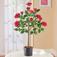 Flowering Red Rose Tabletop Tree - 46578