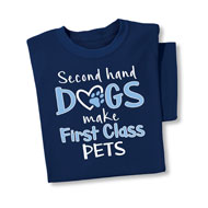 First Class Pets Novelty T-Shirt - 46704