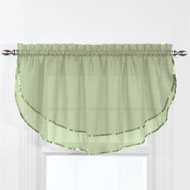 Elegance Sheer Ascot Window Valance - 46778