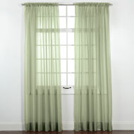 Elegance Sheer Window Curtain Panel - 46779