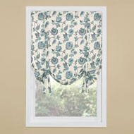 Colette Floral Tie Up Window Shade - 46784
