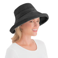 Wide Brim Sun Hat with Adjustable Drawstring - 46799