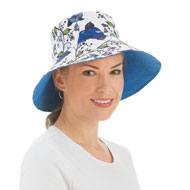 Reversible Sun Hat with Mesh Bag - 46812