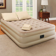 Queen-Size Air Mattress with Pillows and Sheet Set - 46855