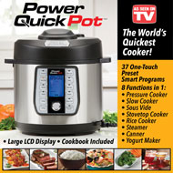 Power Quick Pot, 6 Quart - As Seen on TV - 46869