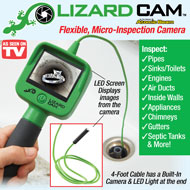 As Seen on TV Lizard Cam Hose Camera - 46902