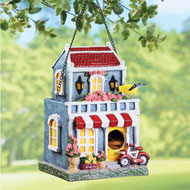 French Country Inn Hanging Birdhouse - 46930