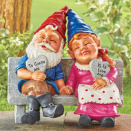 Gnomes In Love Garden Figurine - 46940
