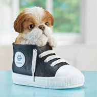 Pet in High-Top Gym Shoe Decorative Figurine - 46954