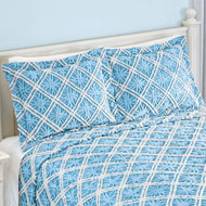 Mandy Chenille Diamond Pattern Pillow Sham - 47044
