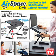 Air Space Adjustable Laptop Desk - 47149