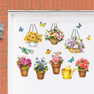 Garden Garage Door Magnets - Set of 15 - 47183