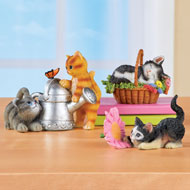 Cute Cat Sitters - Set of 3 - 47191