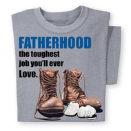 Fatherhood Saying Short-Sleeve T-Shirt - 47192