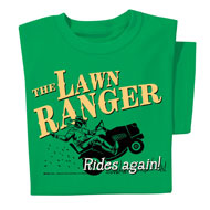 Lawn Ranger Funny Novelty T-Shirt - 47193