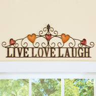Rustic Country Inspirational Wall Art - 47206