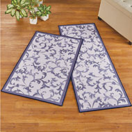 Classic Scroll Design Tufted Rug - 47286