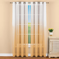 Sheer Ombre Window Curtain Panel - 47332