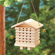 Wooden Bee Hanging House - 47351