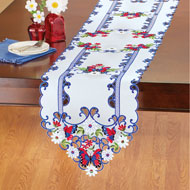 Patriotic Butterflies and Garden Table Linens - 47442