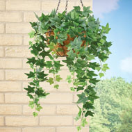 Hanging Faux Ivy Bushes - Set of 2 - 47459