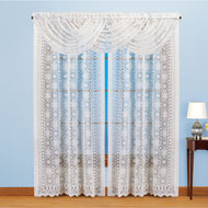 Rochelle Elegant Lace Window Drapes - 47466