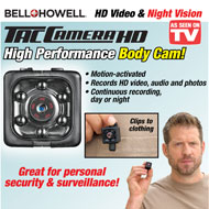 Bell and Howell Tac Body Camera - 47494