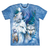 Trio of Majestic Wolves T-Shirt - 47505
