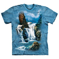 Soaring Eagle Waterfall Scene T-Shirt - 47507