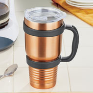 Jumbo Copper- Colored Stainless Steel Tumbler - 47511