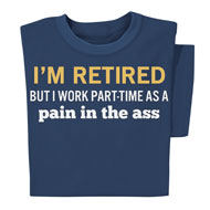 I'm Retired Navy Short-Sleeve T-Shirt