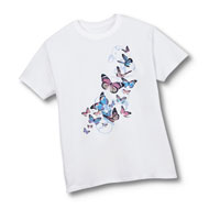Color Changing Butterflies Accent T-Shirt - 47547