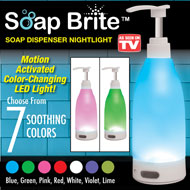 Soap Bright Nightlight Soap Dispenser - 47565