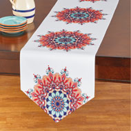 Colorful Mandala Printed Table Linens - 47577
