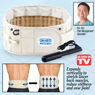 Dr. Ho's 2-in-1 Back Belt for Pain Relief