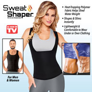 Sweat Shaper Compression Tank Top For Men - 47604