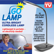 Go Lamp Cordless Tabletop Light - 47606