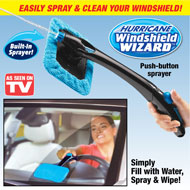 Hurricane Windshield Wizard with Spray Button - 47608