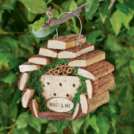 Rustic Design Insect and Bee House with Metal Hook - 47636