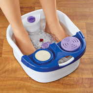 Foot Spa Pro with Built-In Massage Rollers - 47714