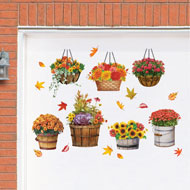 Fall Garden Garage Magnet - 47734