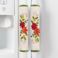 Chrysanthemum Handle Covers - 47793