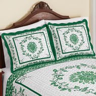 Delicate Leaf Scroll Sham - 47996