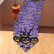 Jack O Lantern Table Topper - 48156