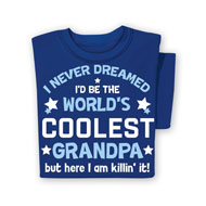 World's Coolest Grandpa T-Shirt - 48378