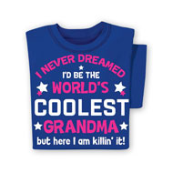 World's Coolest Grandma T-Shirt - 48379