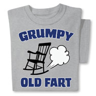 Funny Old Fart Novelty T-Shirt - 48380