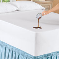 Waterproof Mattress Cover with Elastic Binding - 48396