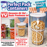 Perfect Pack Containers - Set of 4